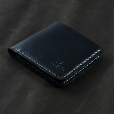Мужское портмоне Purse Pocket black leather