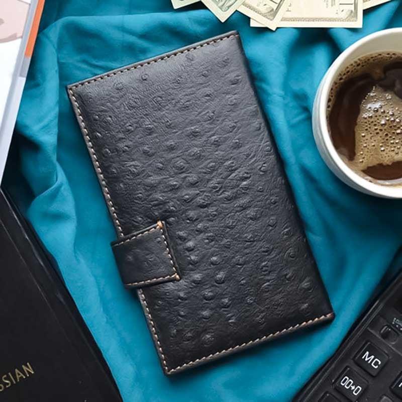 Мужское портмоне Purse Griffin brown leather