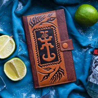 Чоловічий гаманець Purse Мascot brown leather