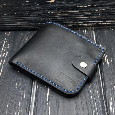 Шкіряне портмоне Purse Compact black leather
