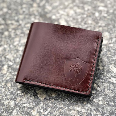 Шкіряне портмоне Purse Red leather