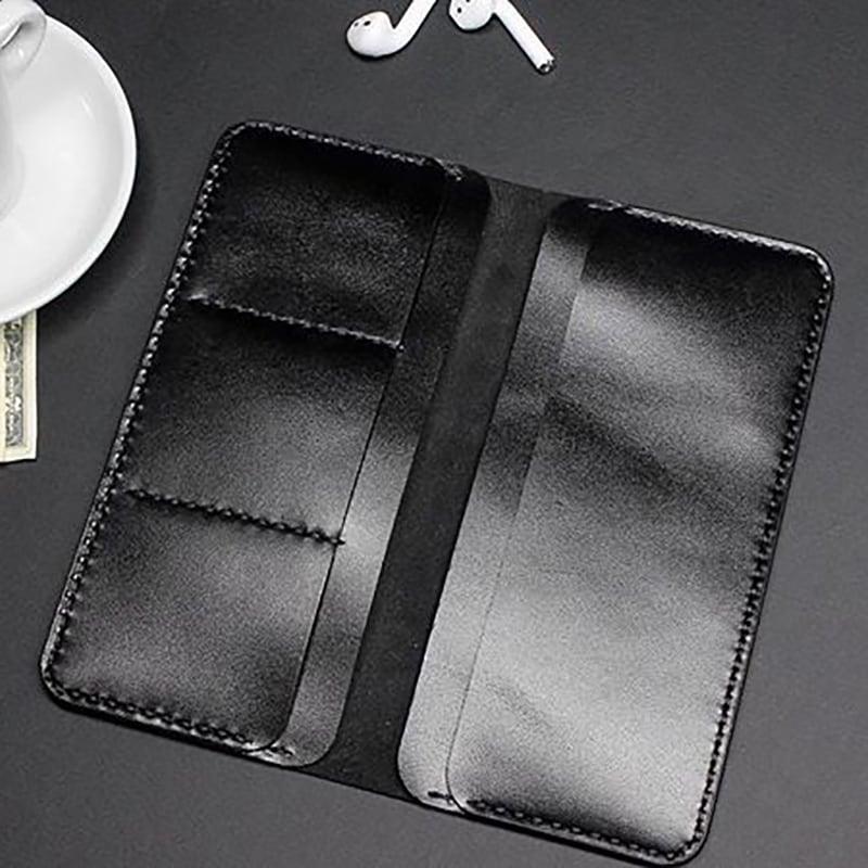 Шкіряне портмоне Purse Black leather