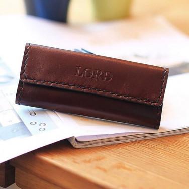 Шкіряна ключниця Key Wallet Red leather