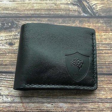 Кожаный кошелек Purse Black leather
