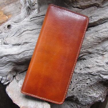 Шкіряне портмоне Wallet Сопѕопапсе Вrown leather