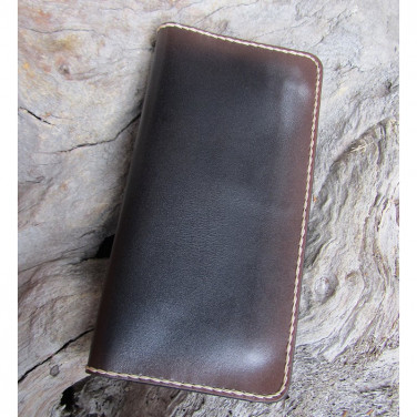 Кожаный мужской кошелек Wallet Сoncord Black leather