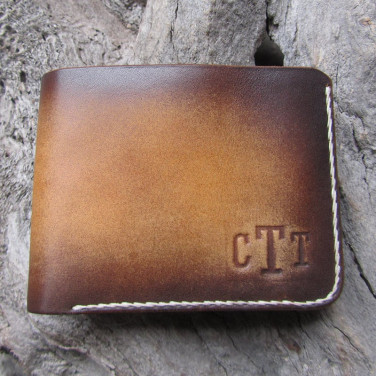 Шкіряне портмоне Purse Grant Вrown leather