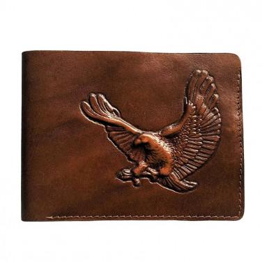 Кожаный кошелек Purse Condor brown leather