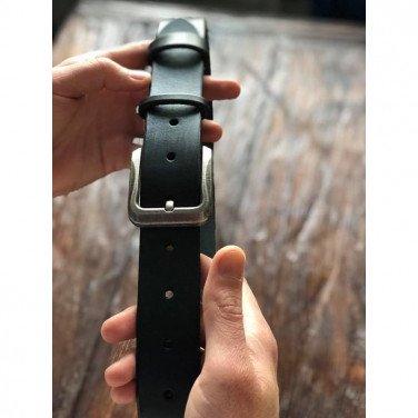 Шкіряний ремінь Belt Neoclassic Black Leather