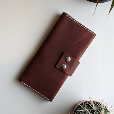 Чоловіче портмоне Purse Universal brown leather