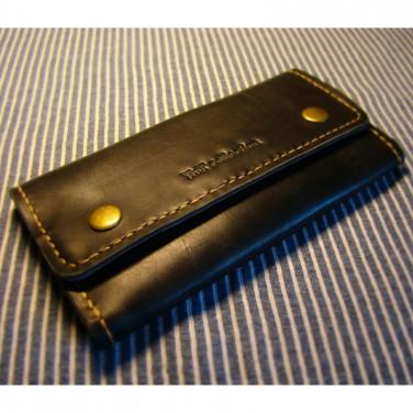 Гаманець жіночий handmade з натуральної шкіри Purse Brown Leather