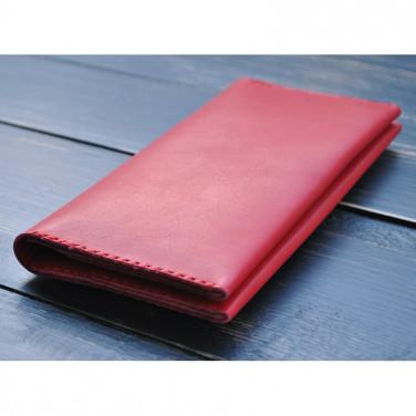 Кошелек женский Wallet Sardius red leather