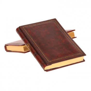 Ежедневник в кожаной обложке La Frette brown leather