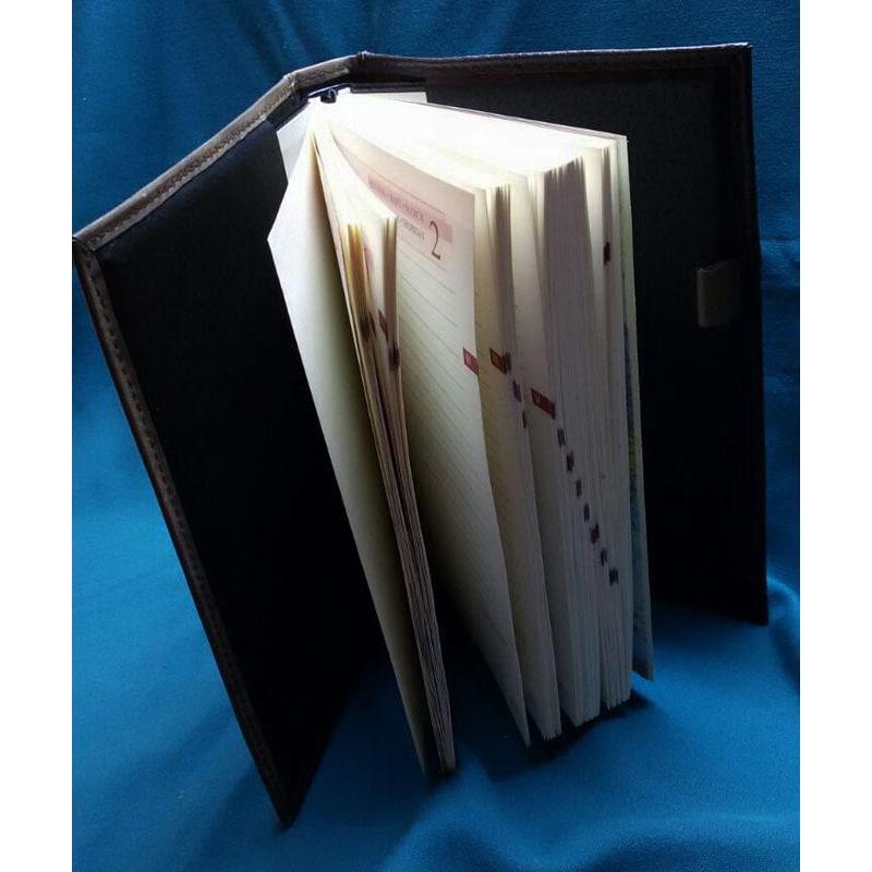 Щоденник у шкіряній обкладинці жіночий Чарівна Рись brown leather