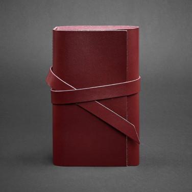 Шкіряний блокнот авторський жіночий Diary Grape Leather