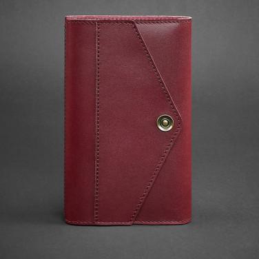 Шкіряний блокнот handmade жіночий Notebook Vinic Leather