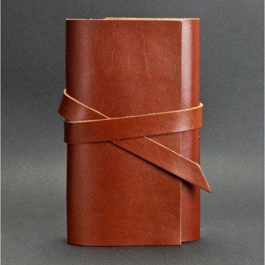 Кожаный блокнот handmade женский Diary Brown Leather