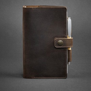 Кожаный блокнот ручной работы Sketchpad Brown Leather