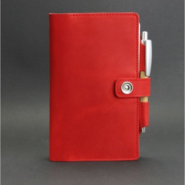 Шкіряний блокнот handmade Sketchpad Red Leather