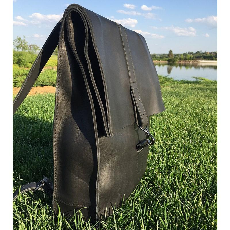 Рюкзак чоловічий Васкраск Black Leather