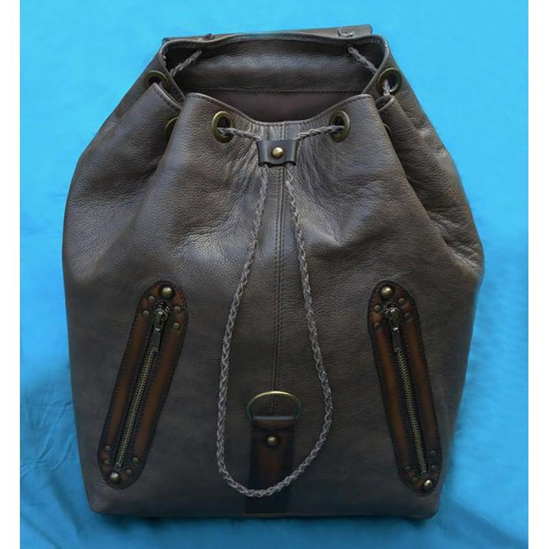 Кожаный рюкзак мужской Celtic Brown Leather