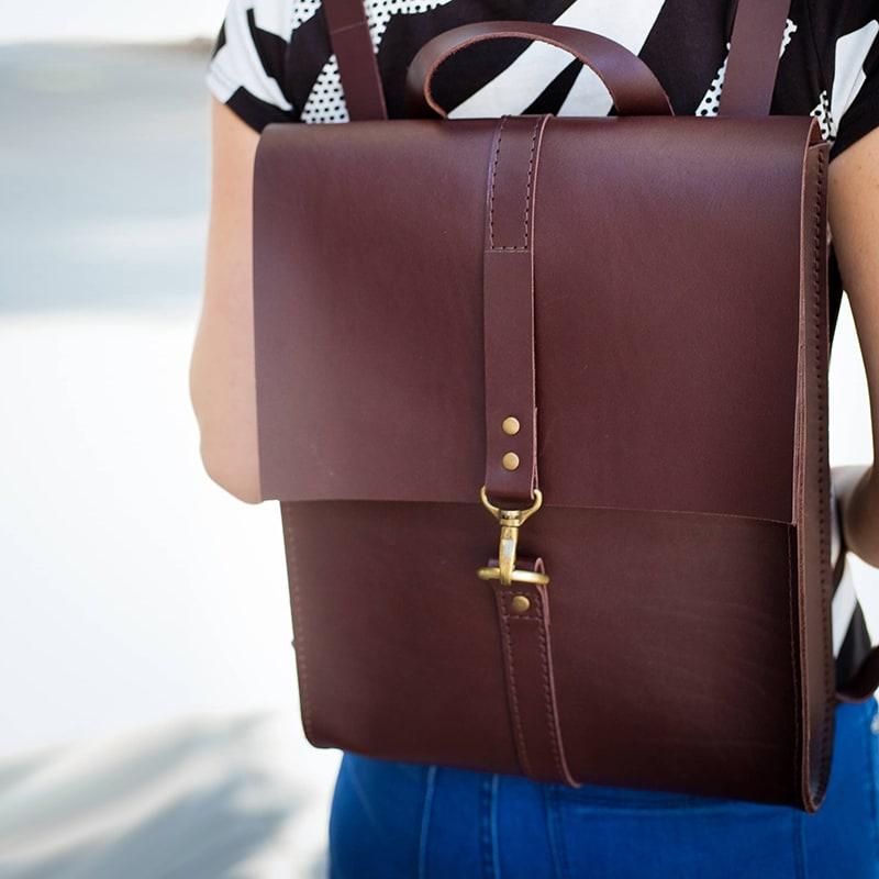 a33b51d50ffe AXES | Рюкзак женский Вackpack Bordeaux Leather. Цена, купить Рюкзак ...