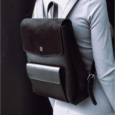 Женский рюкзак Вackpack Black Leather