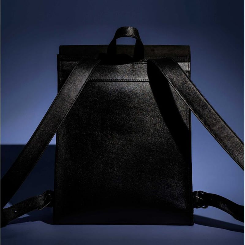 Жіночий рюкзак Васкраск Black Leather