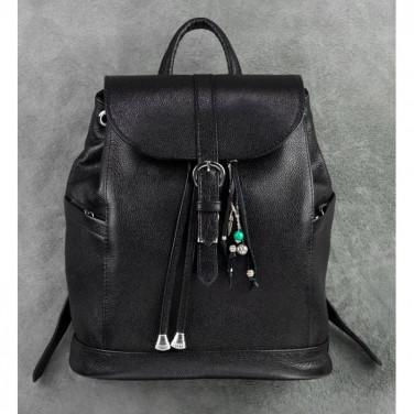Сумка рюкзак женская Вackpack Black Leather