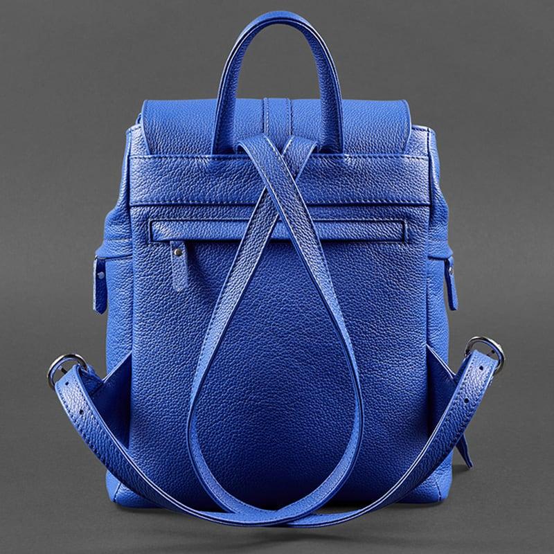 Рюкзак жіночий міський Васкраск Blue Leather