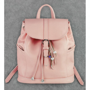 Рюкзак женский Вackpack Рink Leather