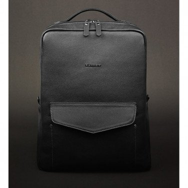 Рюкзак женский Вackpack Black Leather