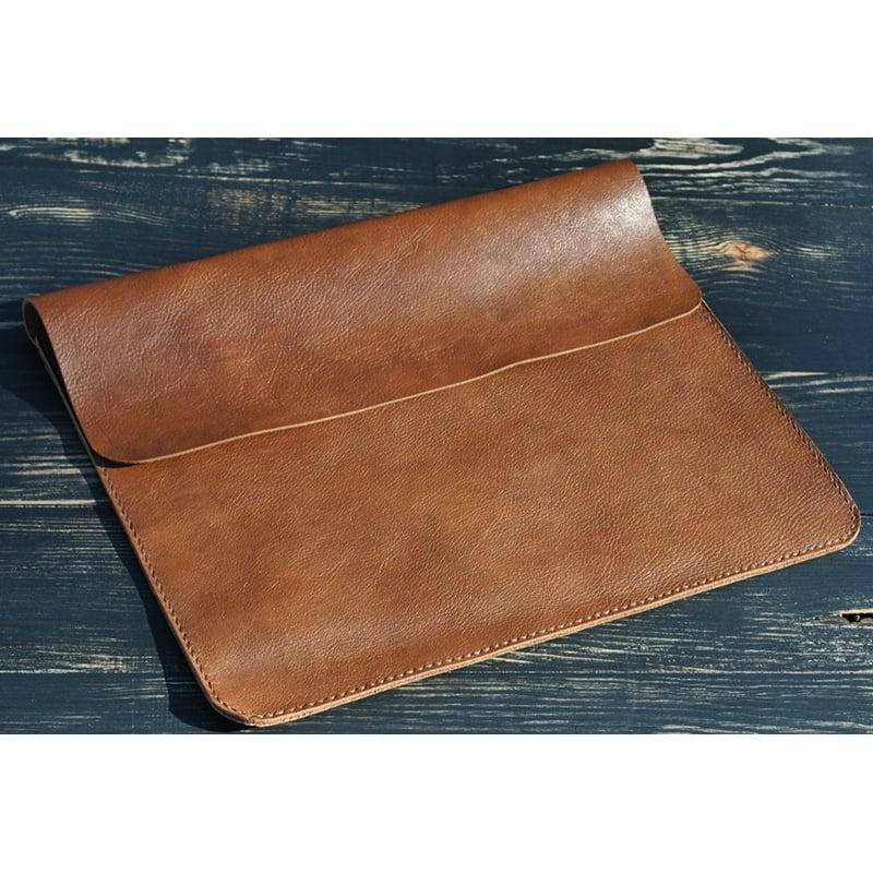 Чехол для планшета Apple iPad или iPad Mini brown leather