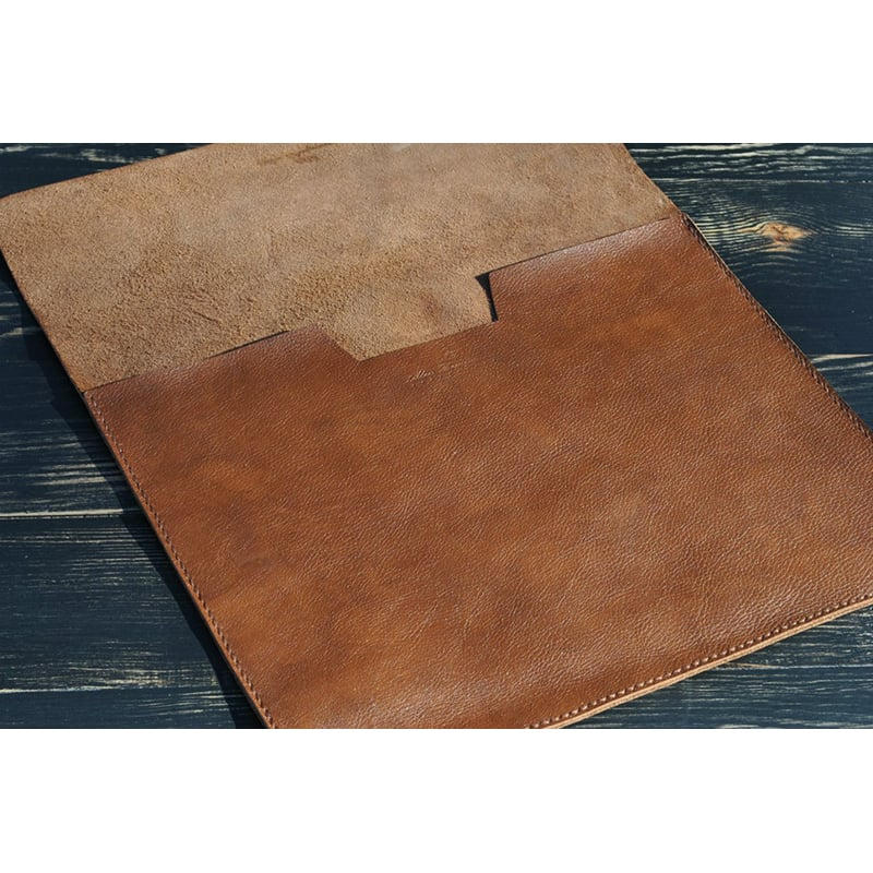 Чохол для ноутбука або Макбук brown leather