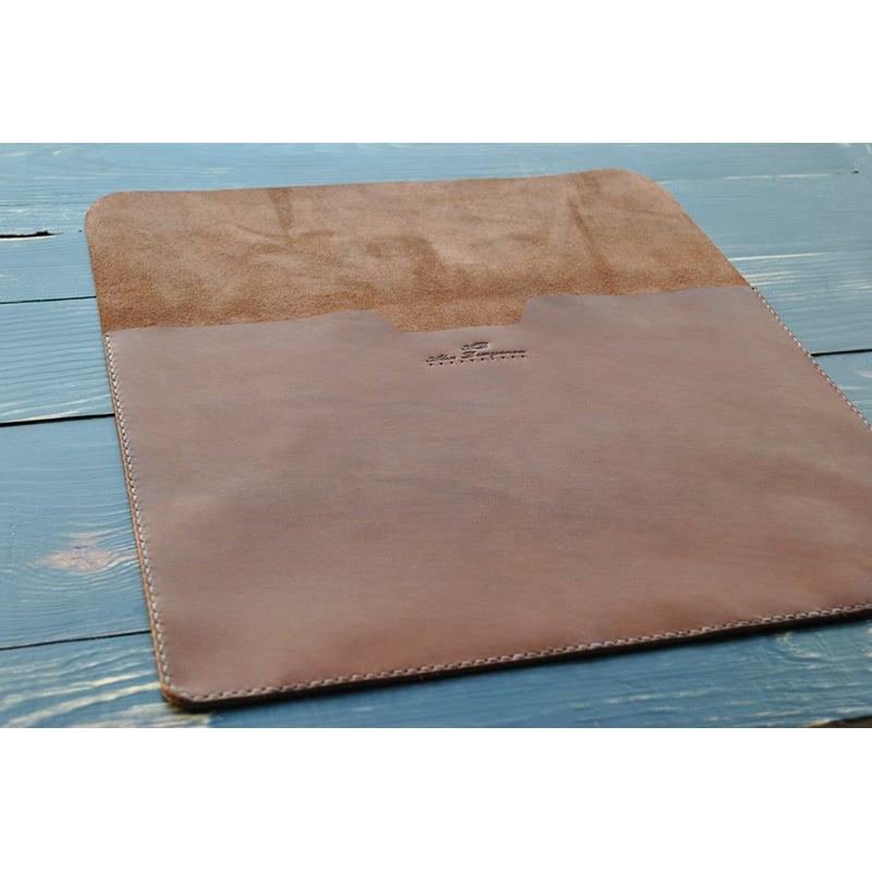 Чехол кожаный для планшета brown leather