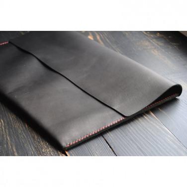 Чехол кожаный для планшета black leather