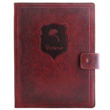 Шкіряна Папка для документів Folder brown leather