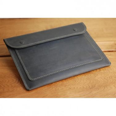 Шкіряна папка Folder А4 black leather