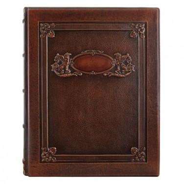 Эксклюзивный фотоальбом Грифон brown leather