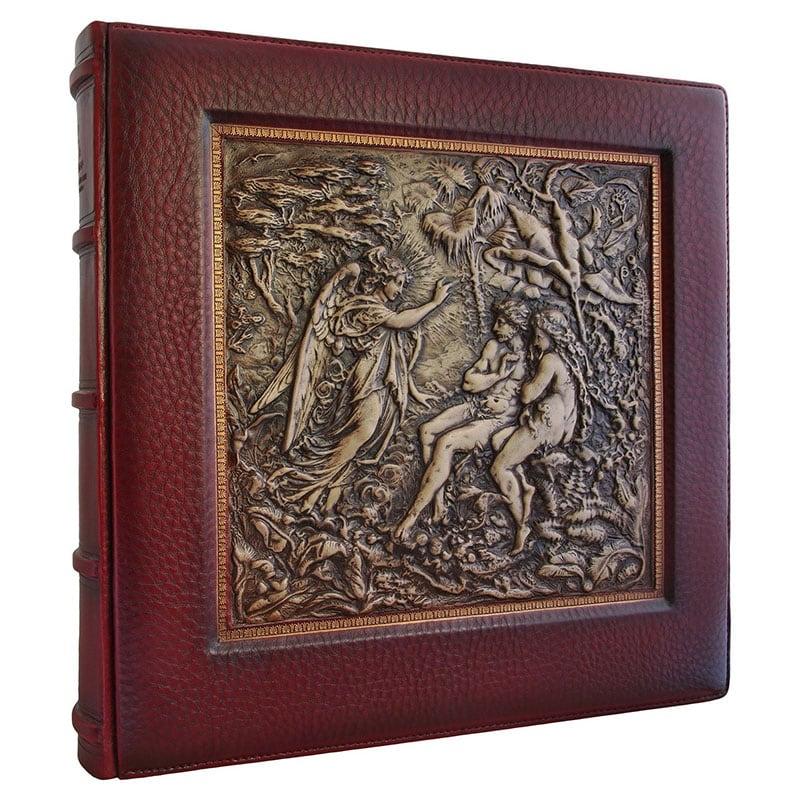 Шкіряний фотоальбом Едем brown leather