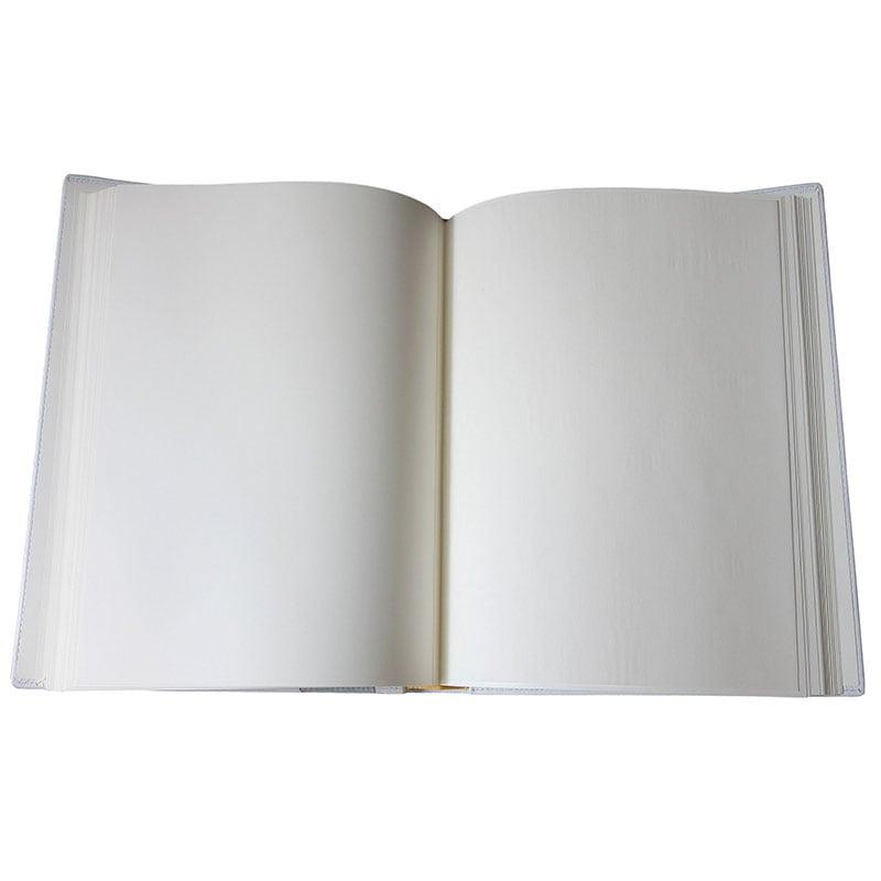Кожаный фотоальбом Серебристый Дамаск gray leather