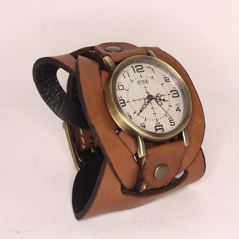 Чоловічі наручні кварцові годинники Braided band