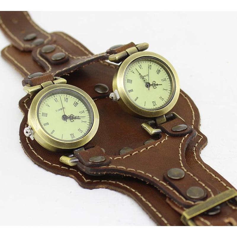 Часы женские на кожаном ремешке Voyage