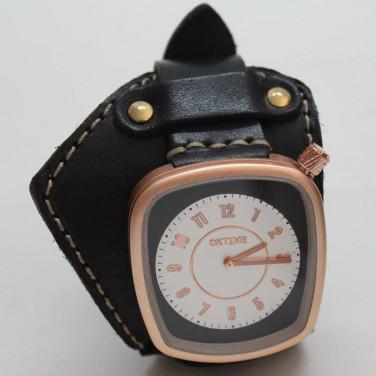 Женские часы с кожаным ремешком Glory