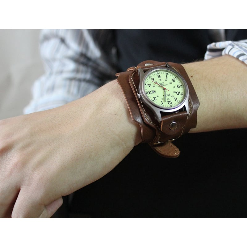 Годинники чоловічі шкіряні Swiss Style Green