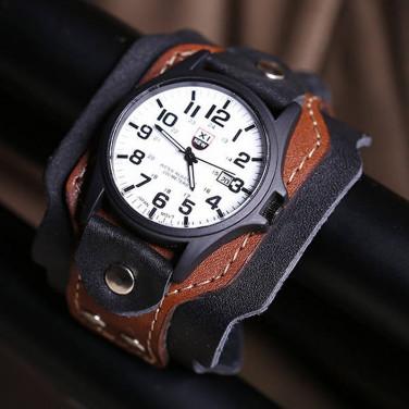 Часы мужские кожаные Swiss Style