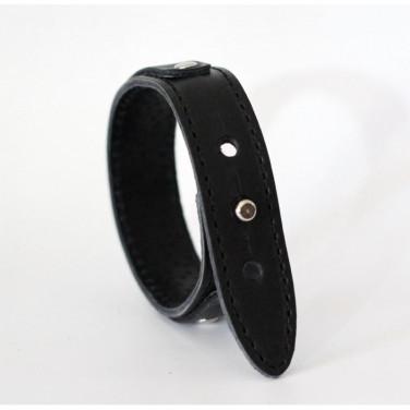 Шкіряний браслет Wrist Belt black leather