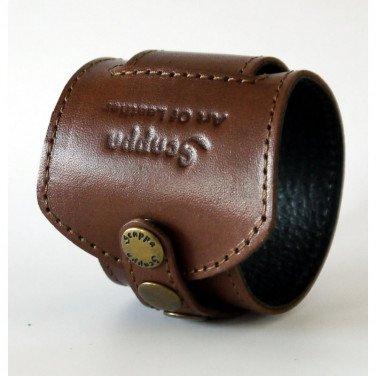 Мужской кожаный браслет Girth brown leather