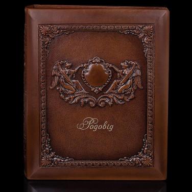 Родословная книга Родовід brown leather